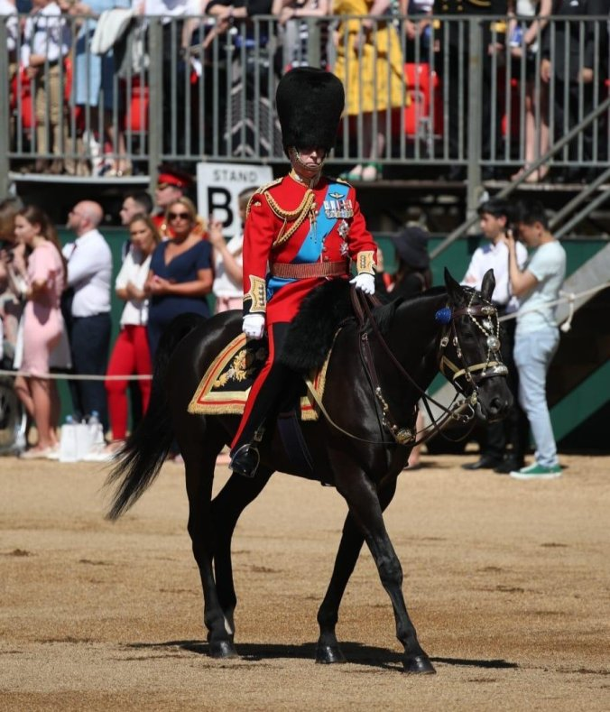 trooping the colour andrew