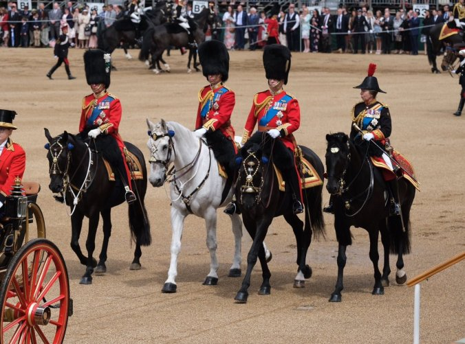 trooping the colour colonels