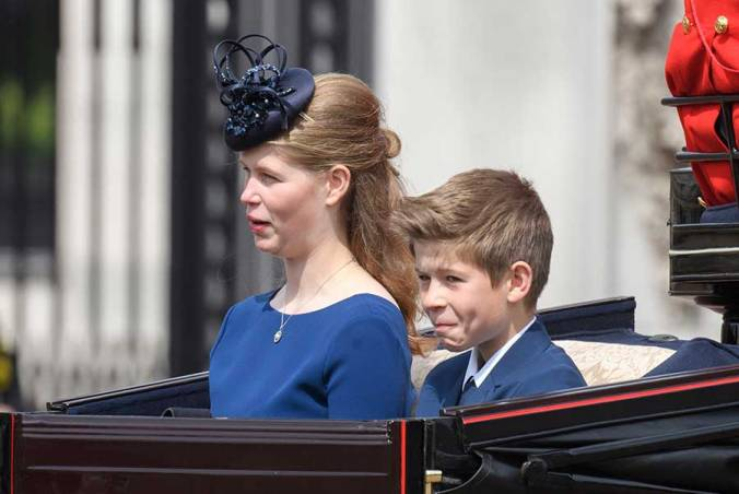 trooping the colour louise james