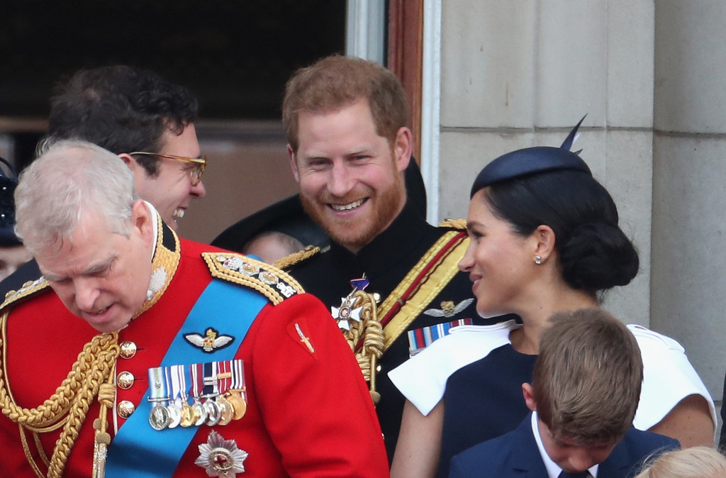 trooping the colour meghan 2