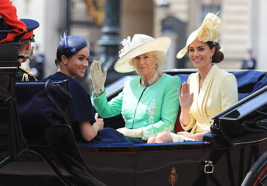 trooping the colour royal ladies