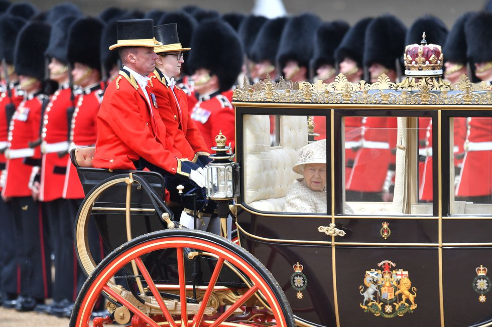 trooping the colour the queen