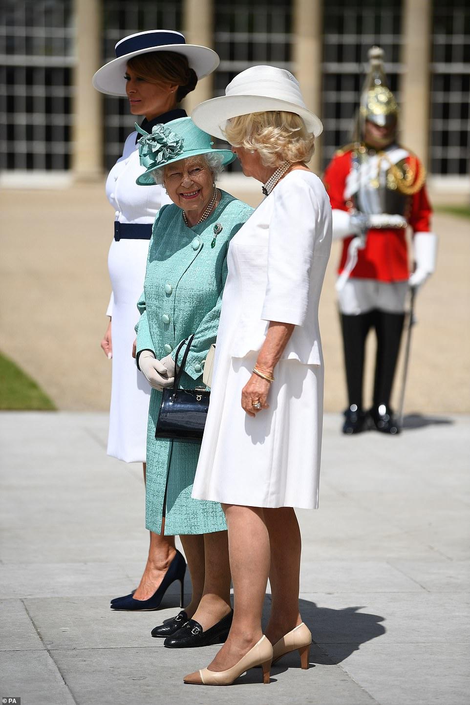 UK USA queen-camilla