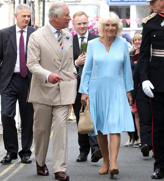 Camilla in Cornwall