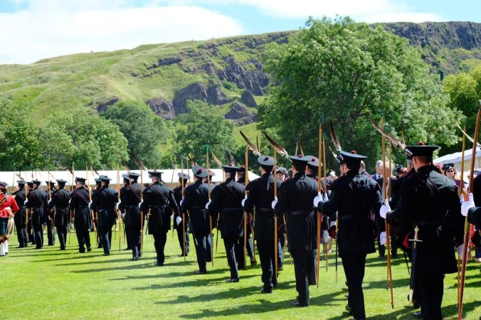 holyrood garden party archers