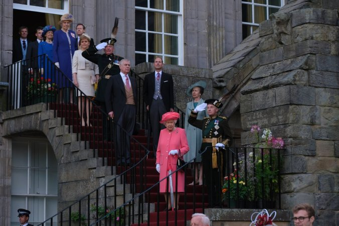 holyrood garden party