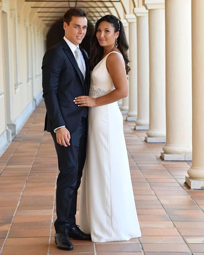 louis marie civil wedding