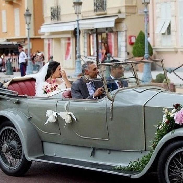 louis marie wedding car