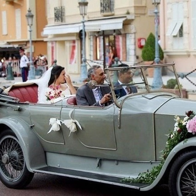 louis marie wedding car