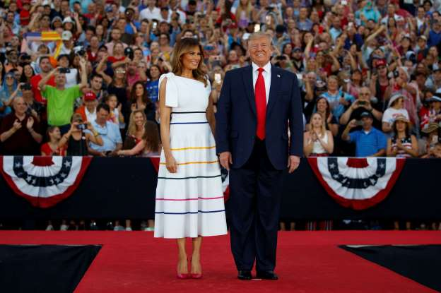 melania independence day