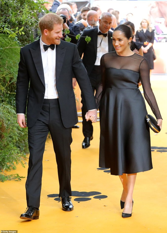 sussexes the lion king