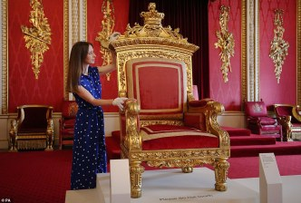 victoria exhibition throne