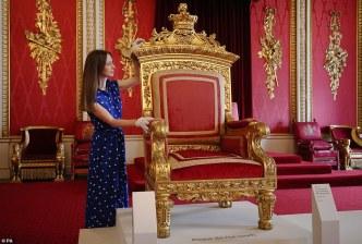 victoria exhibition throne