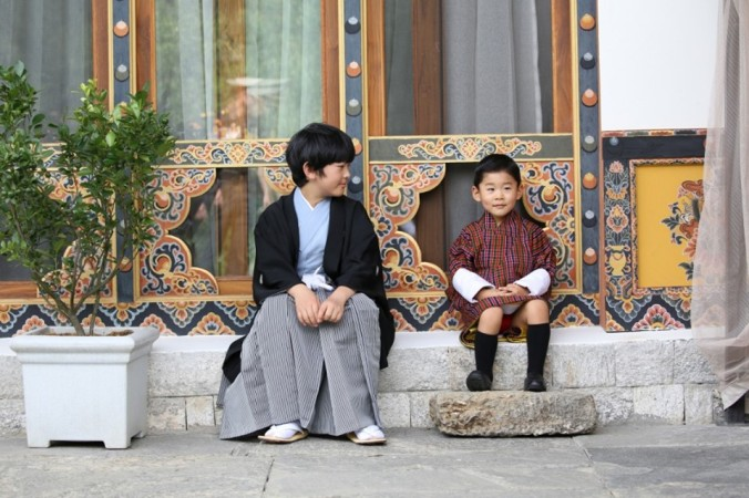 bhutan-japan boys