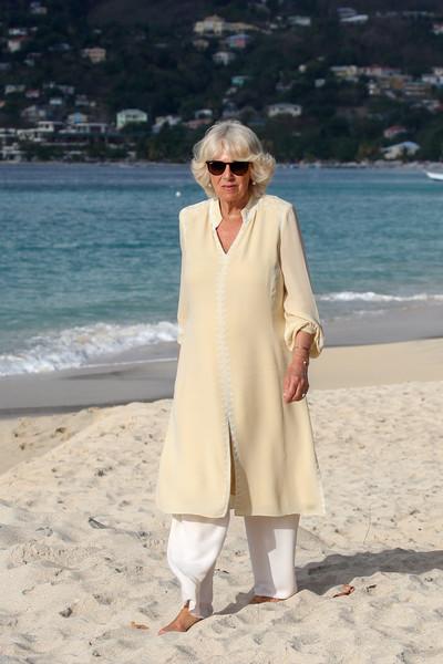 camilla on the beach