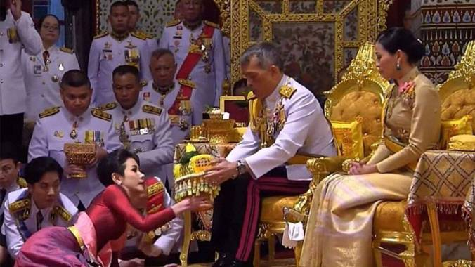 thai king august wedding
