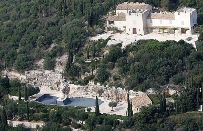 villa rotschild corfu