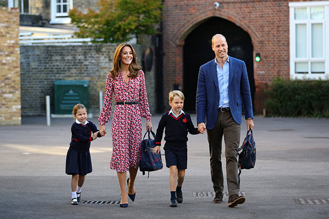 cambridges at school