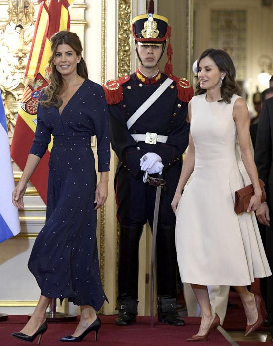ARGENTINA-SPAIN-ROYALS-MACRI-KING FELIPE VI