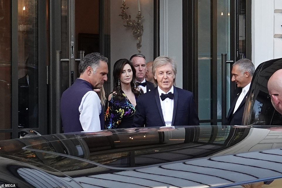 misha wedding sir paul