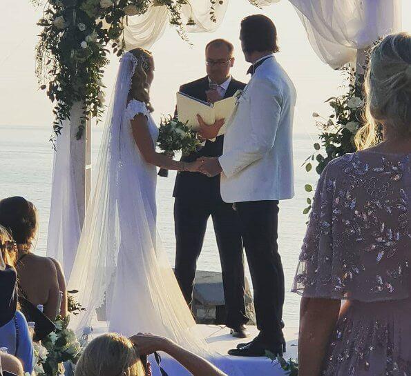 swedish capri wedding
