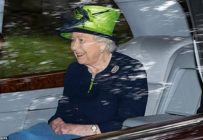 the queen lime hat balmoral