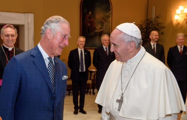 charles and the pope
