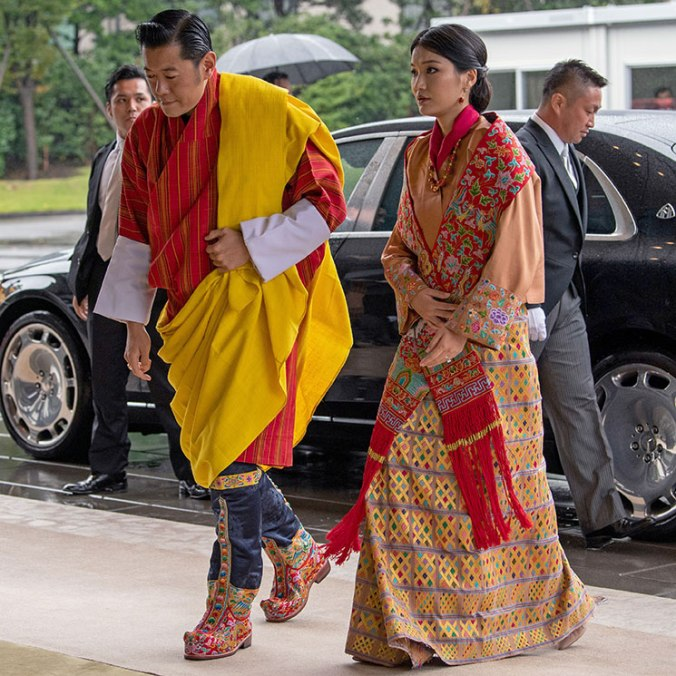 japan enthronement bhutan