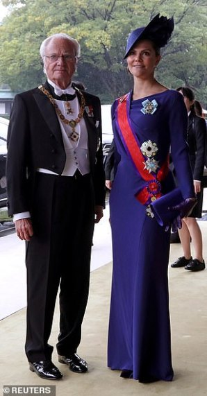 japan enthronement victoria