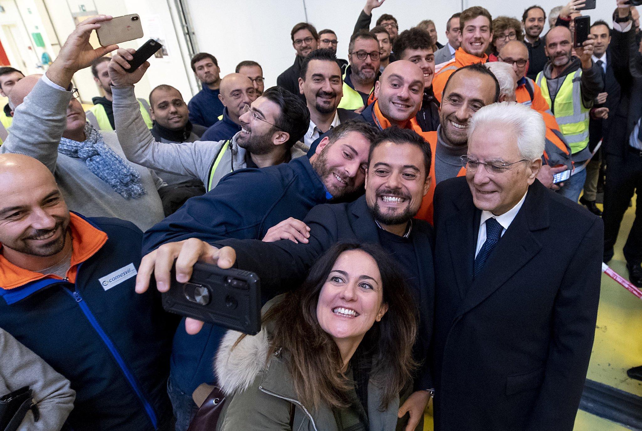 Mattarella Copenaghen selfie