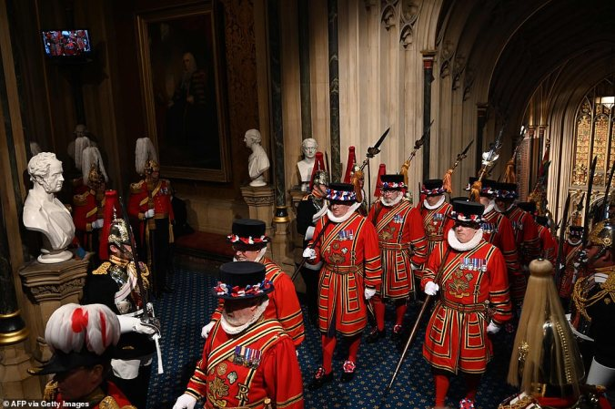 opening of parliament 2019 beefeaters