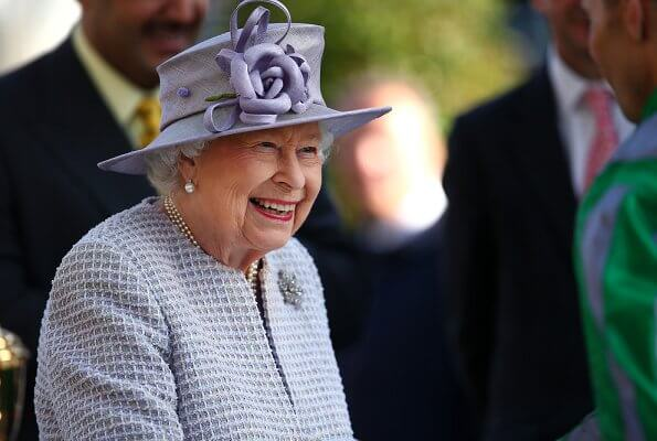 the queen QIPCO British Champions Day 2019