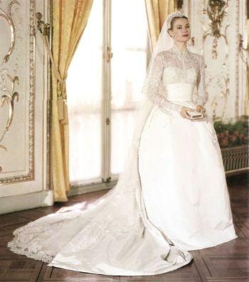 grace wedding dress front