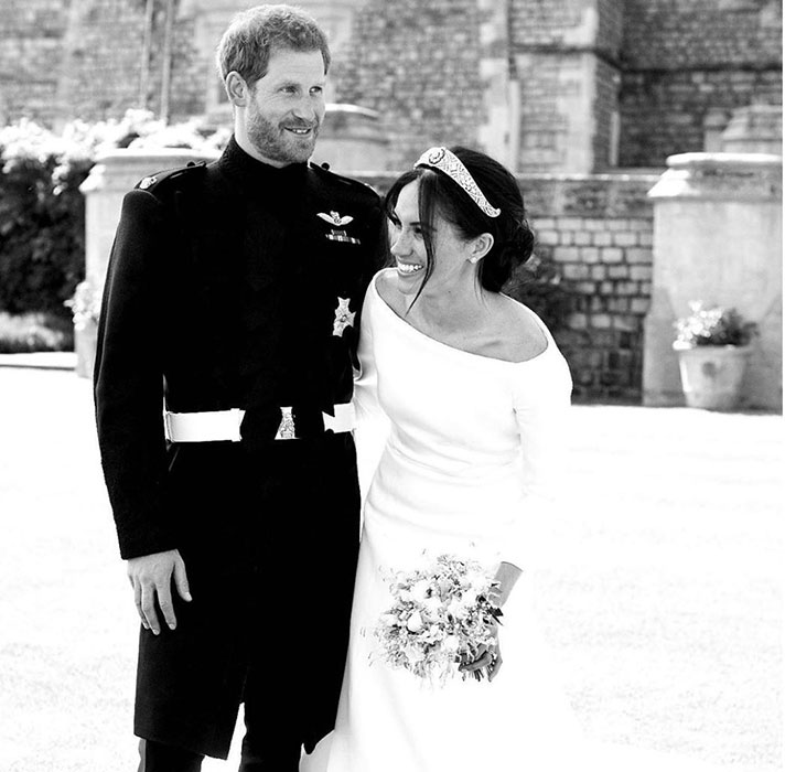harry meghan wedding unseen photo
