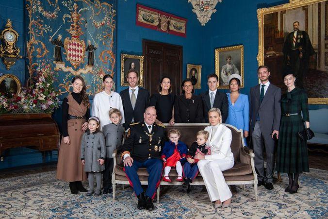 monaco photo de famille