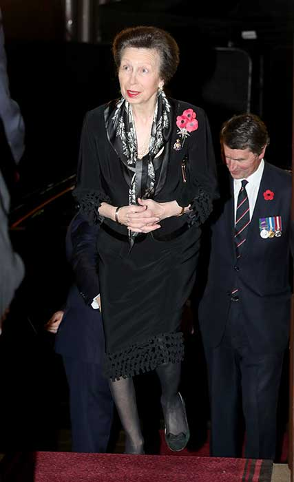 remembrance 19 royal albert hall anne
