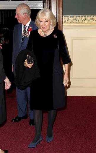 remembrance 19 royal albert hall camilla