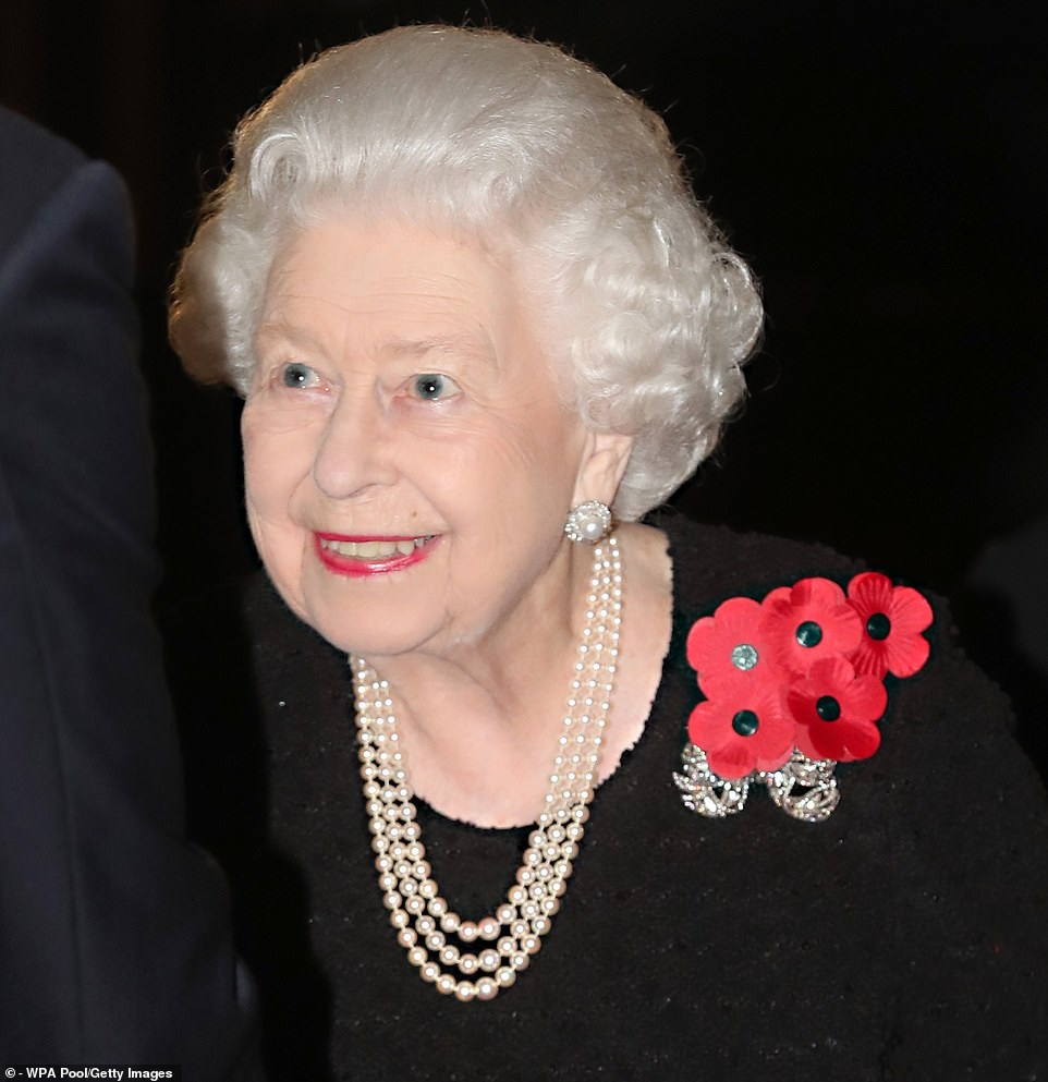 remembrance 19 royal albert hall the queen