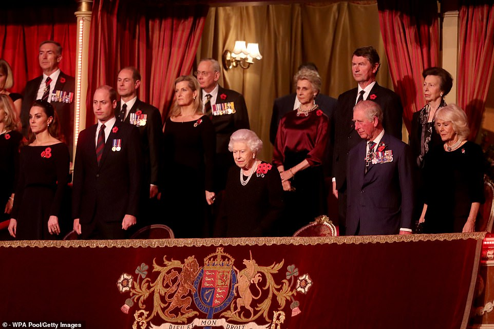remembrance 19 royal albert hall