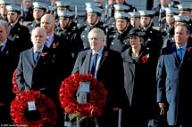 remembrance sunday 2019 politicians