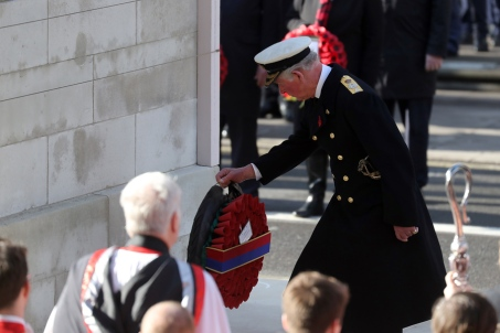 remembrance sunday 2019 prince charles
