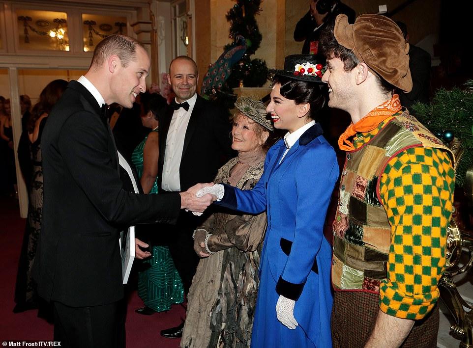 royal variety performance 2019 mary poppins