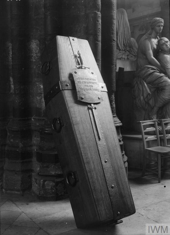 unknown warrior coffin