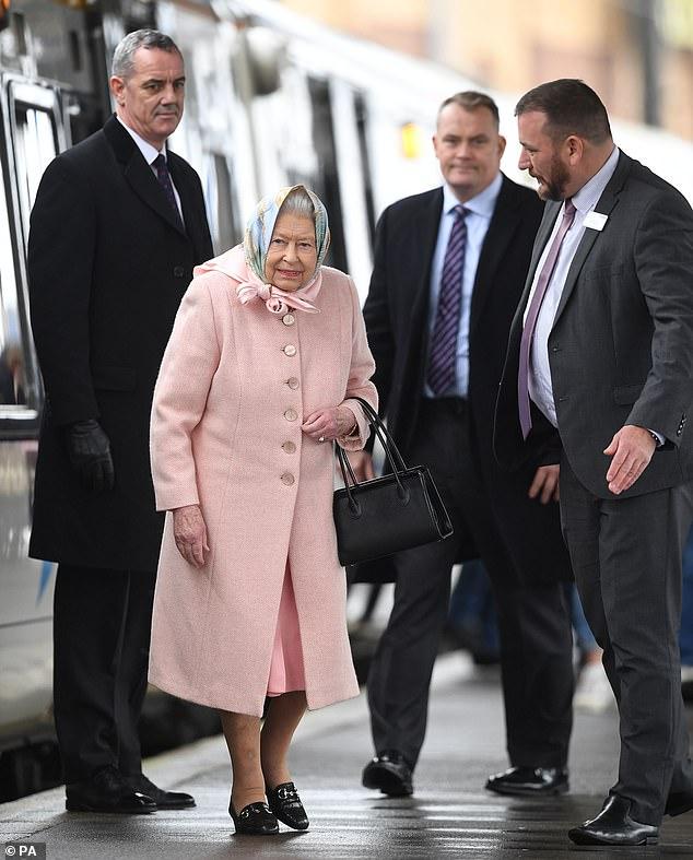 the queen to sandringham