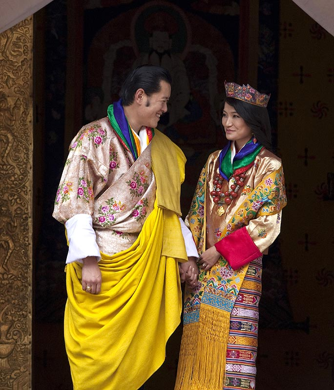 bhutan royal couple 2