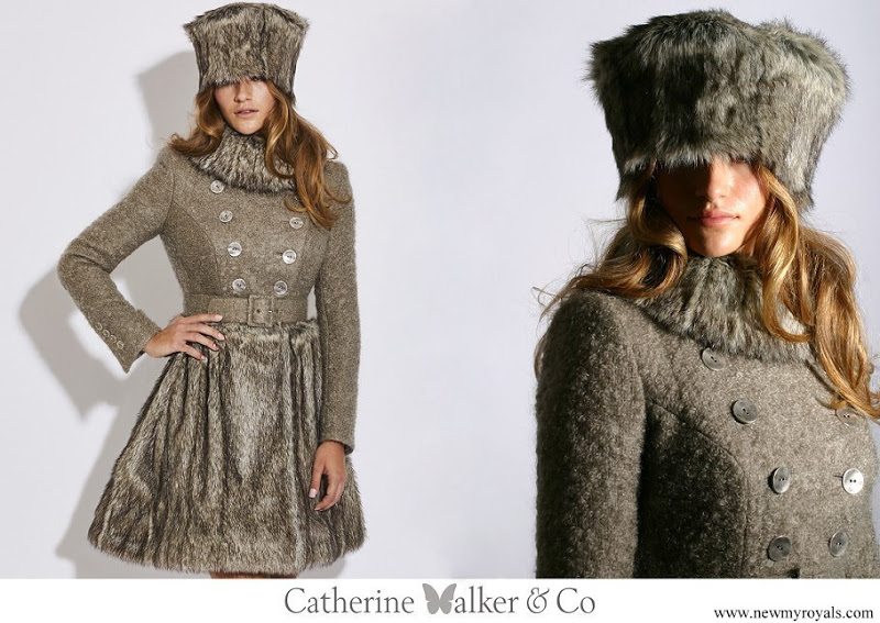 Kate Middleton wore Catherine Walker Larissa coat www.newmyroyals.com