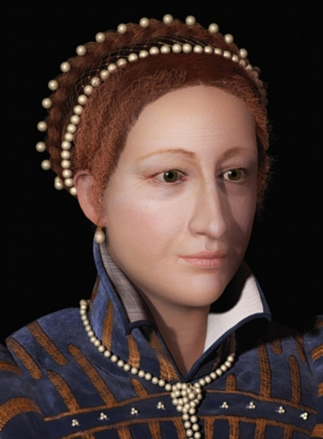 mary of scots face 3d