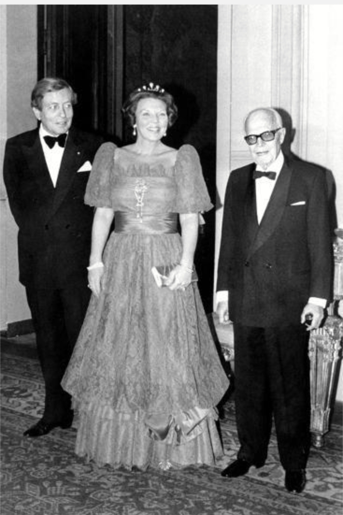 Queen Beatrix Prince Claus Presidente Pertini