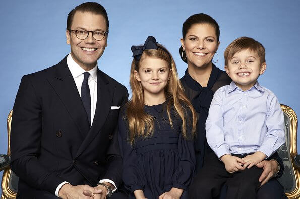 crown princess family