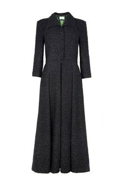 eponine tweed midi dress